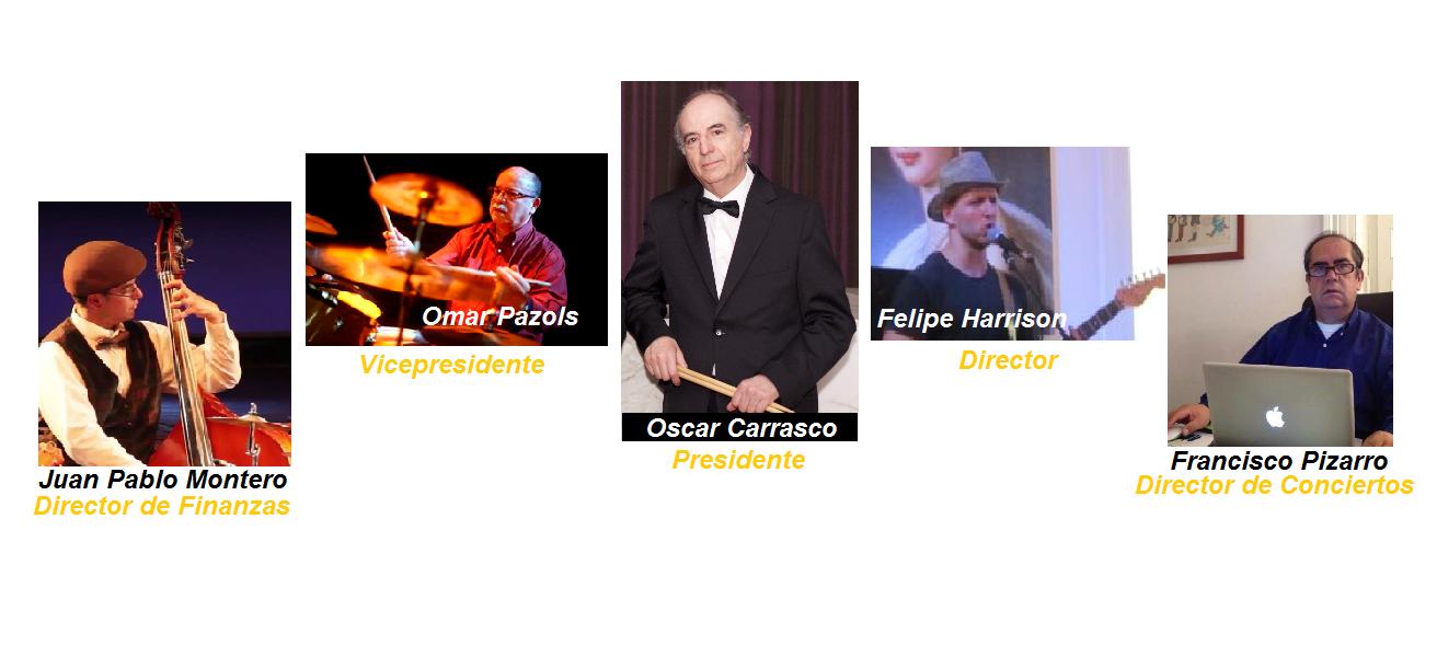 Directorio Club de Jazz de Santiago Julio 2016