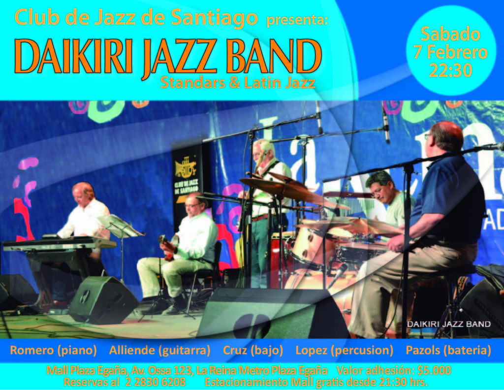 Daikiri Jazz Band CdJ 7.2.15